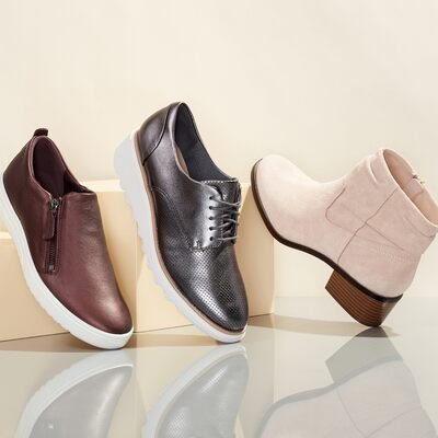 Fall Shoe Shop: Comfort Styles