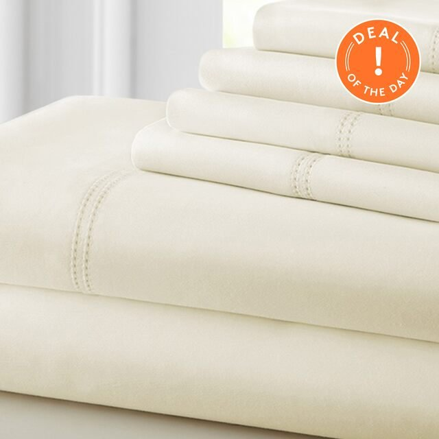 Free Shipping: 1000-Thread Count Sheets at 75% Off