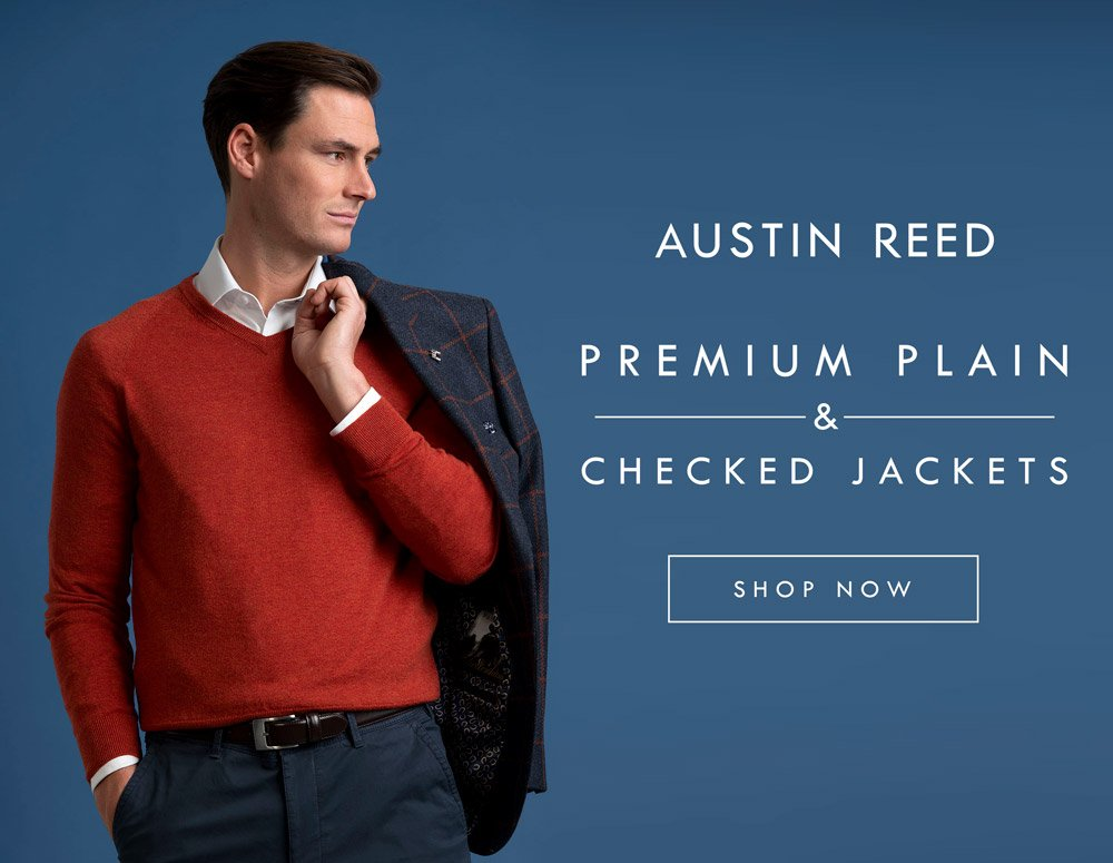 Austin Reed Premium Jackets Blazers From 149 100 Wool Plain Checked Designs Milled