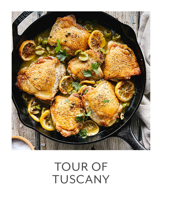 Class: Tour of Tuscany