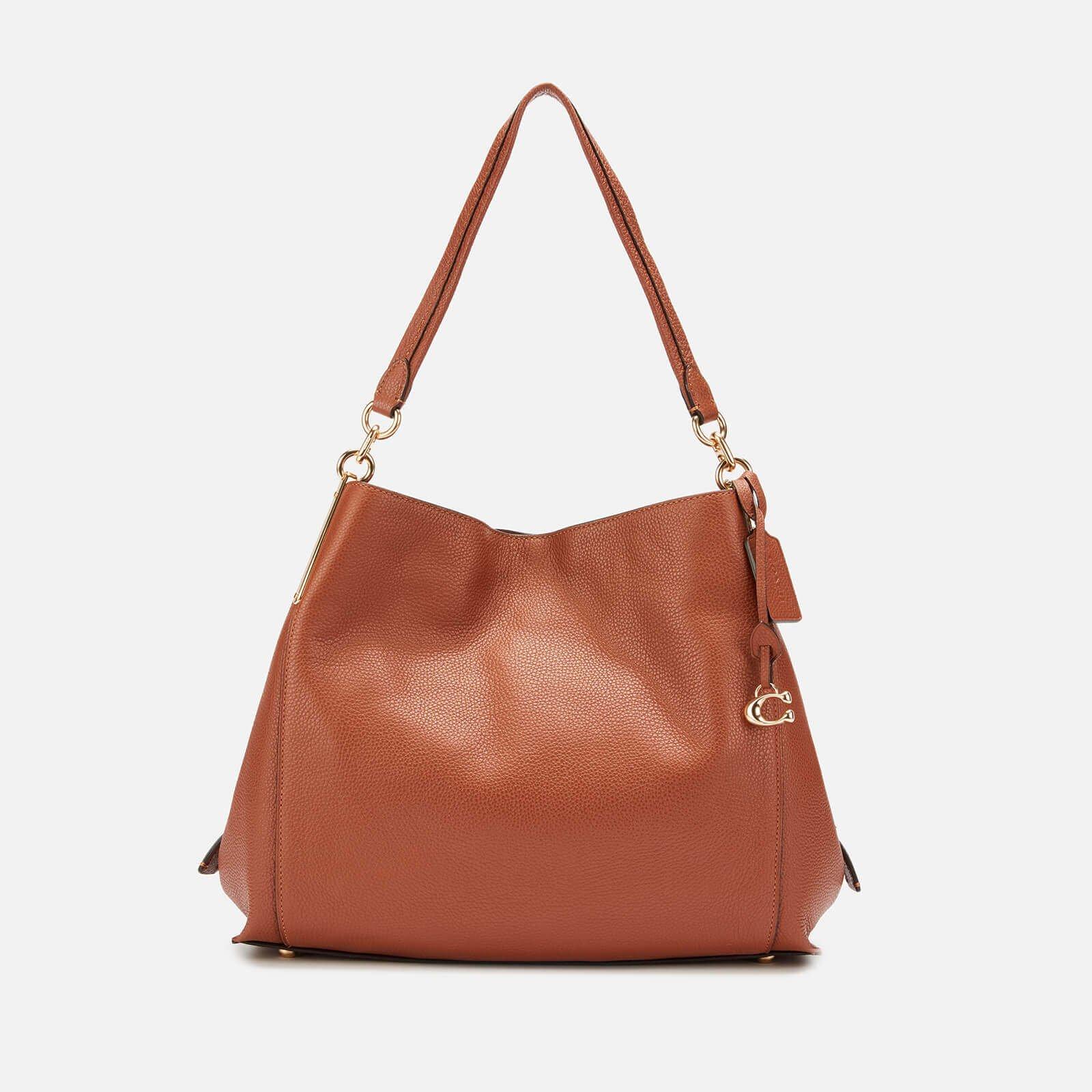 Coach Women's Polished Pebble Lthr Dalton 31 Shoulder Bag