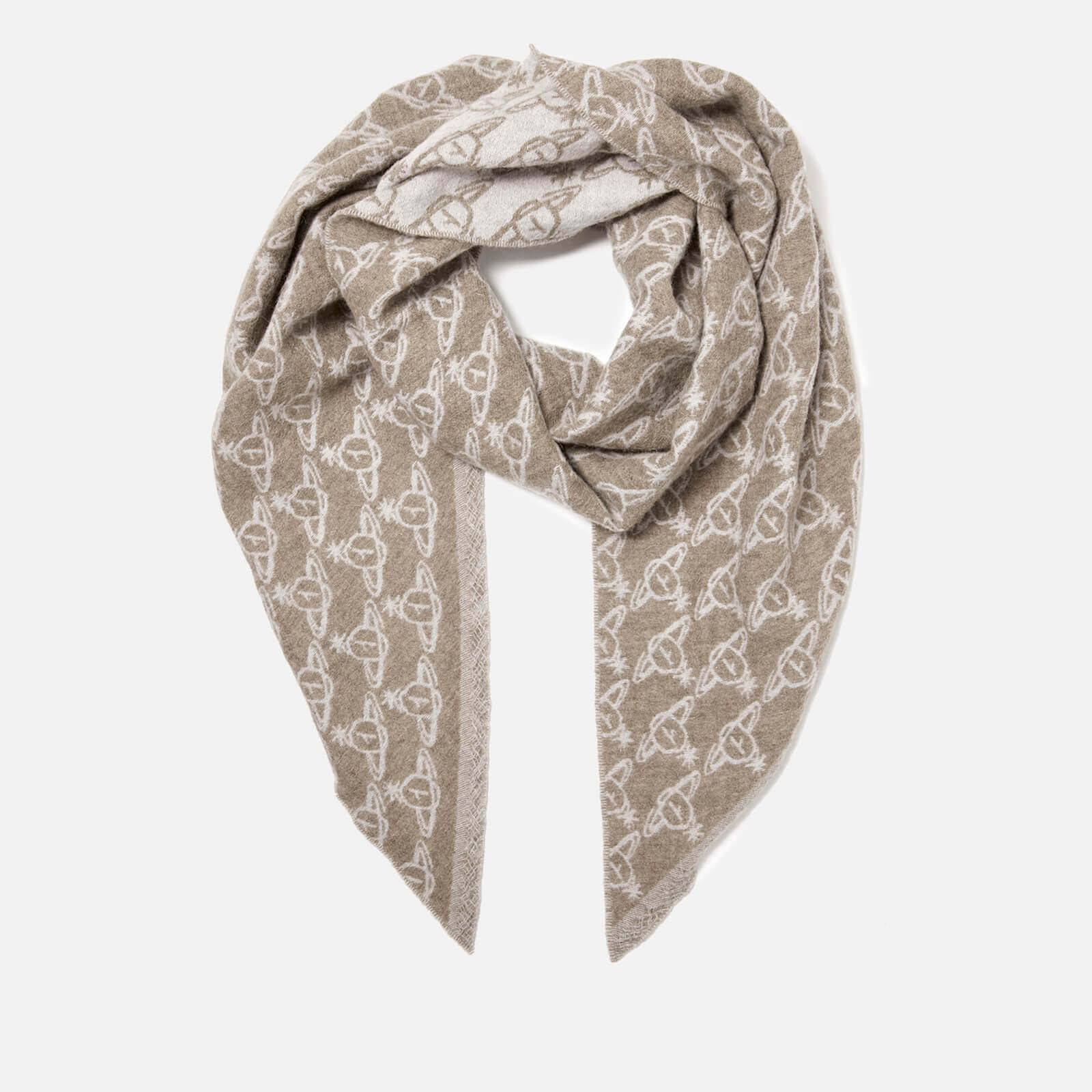 Vivienne Westwood Women's One All Over Logo Scarf