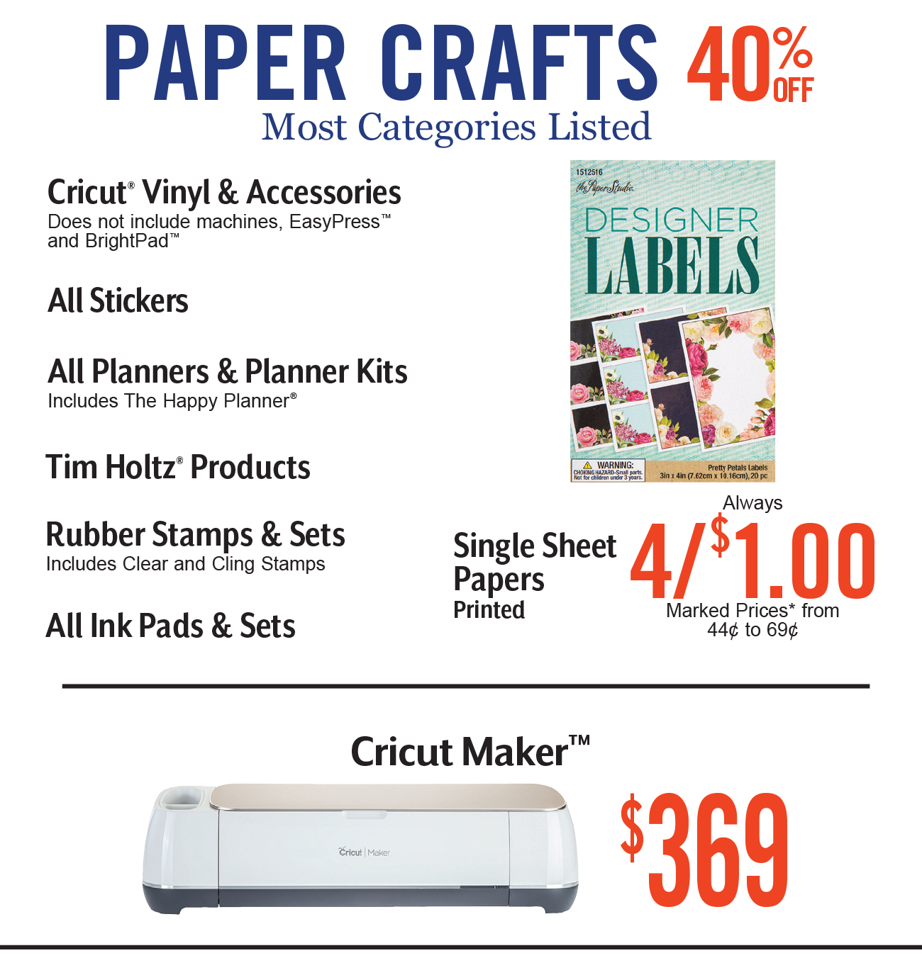 Hobby Lobby: Three Cheers for the 40% Off Coupon | Milled