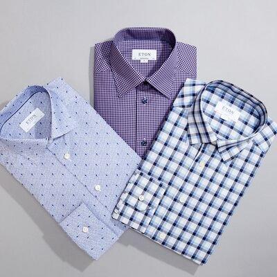 Eton Dress Shirts Up to 50% Off