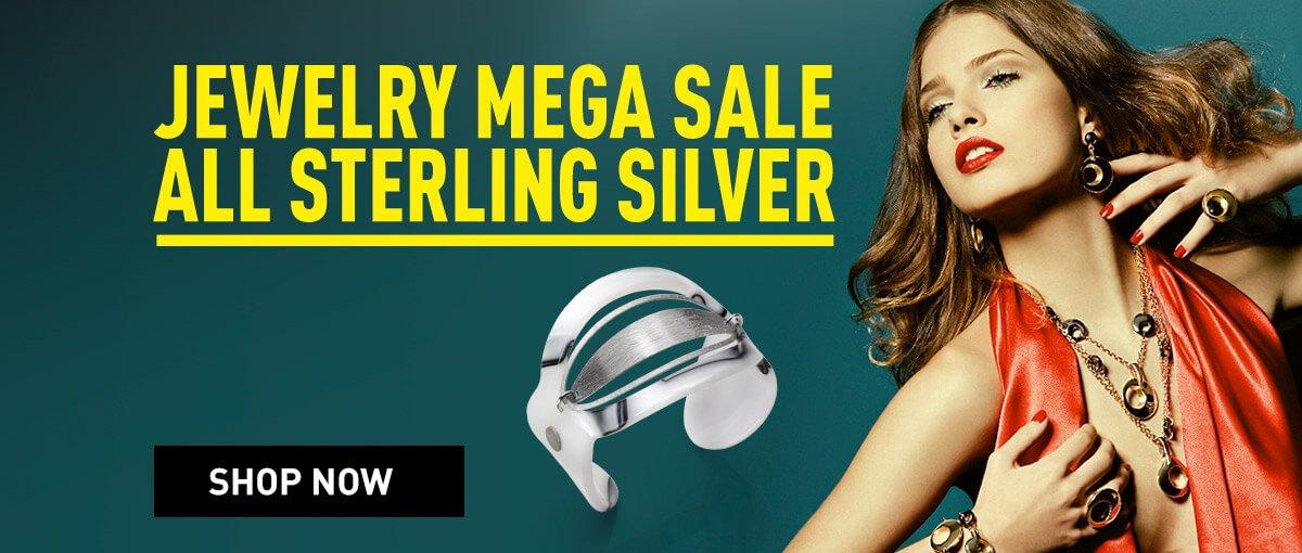 Invicta Jewelry Mega Sale - Sterling Silver