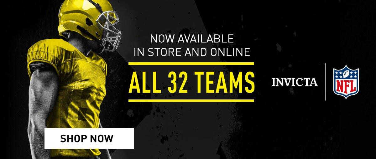 Invicta NFL - All 32 Teams