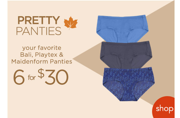 Shop Panties! - Turn on your images