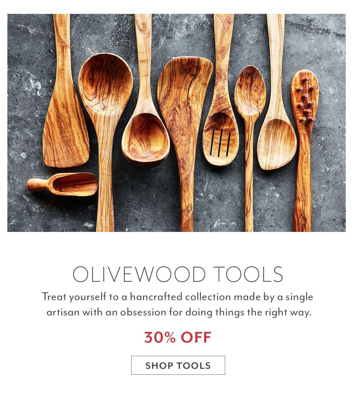 Olivewood Tools