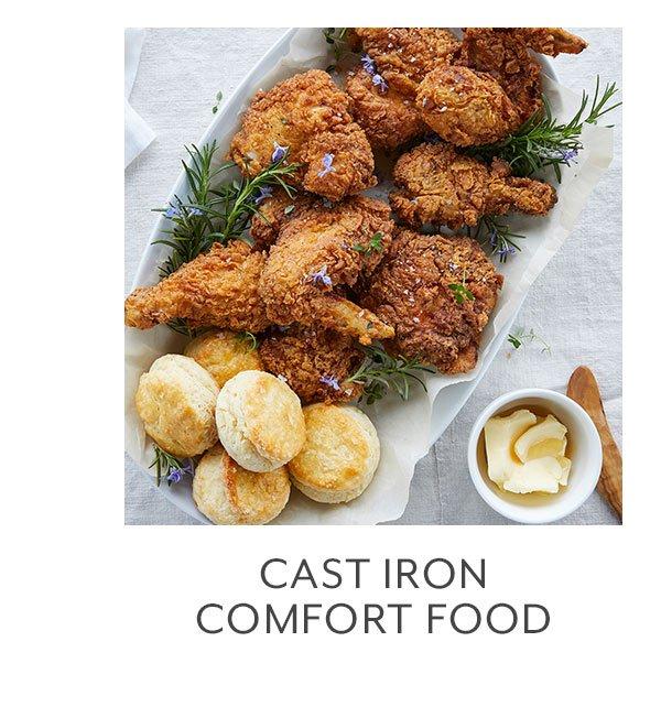 Class: Cast Iron Comfort Food