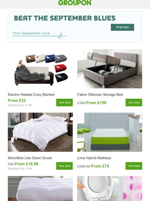 Strange Groupon Uk Bed Down To These Deals Milled Gmtry Best Dining Table And Chair Ideas Images Gmtryco