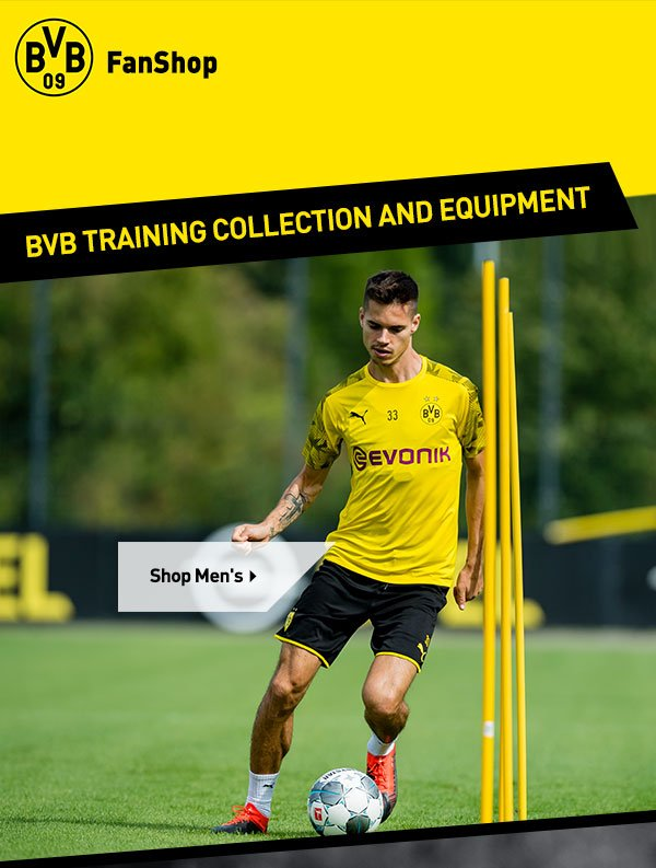 Bvb Borussia Dortmund Get Your Personalised Bvb 2019 20 Training Gear Milled