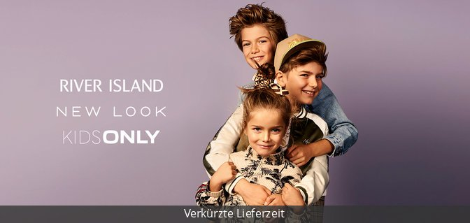 River Island + New Look + Kids Only