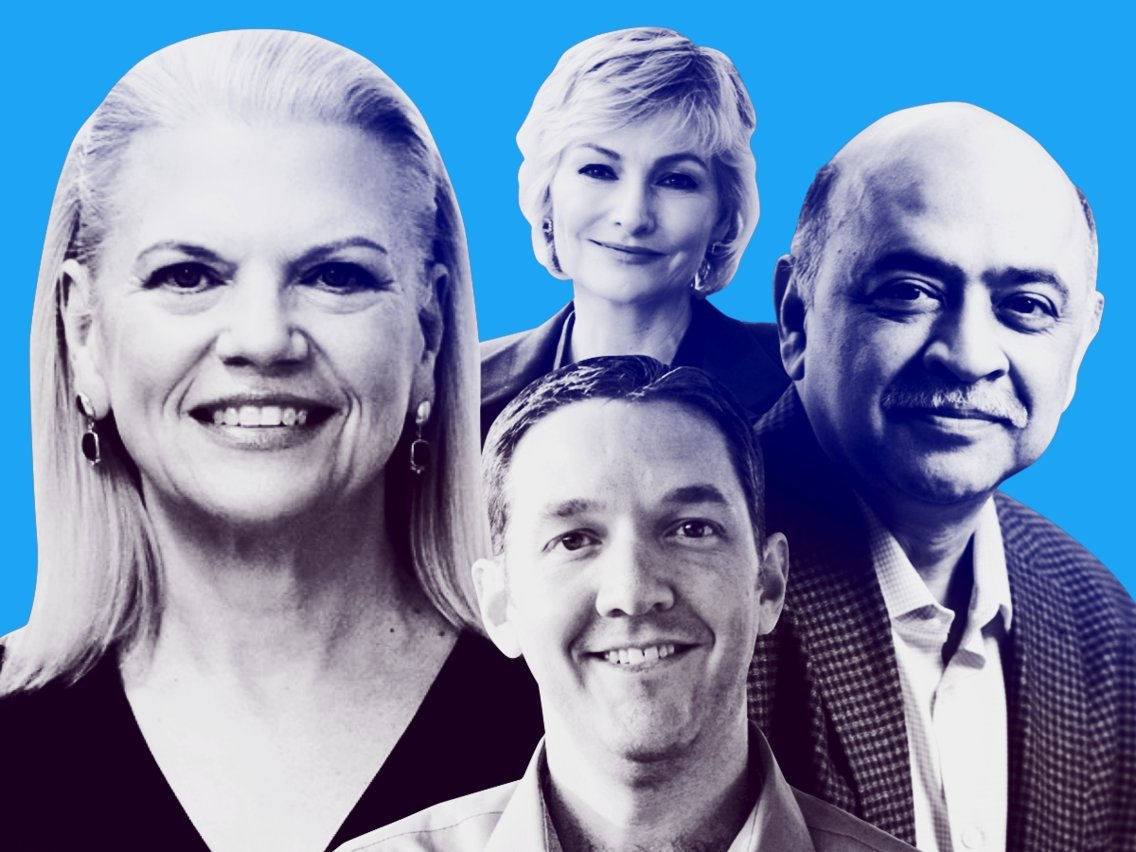 Meet the 14 power players of IBM, playing key roles in CEO Ginni Rometty's bid to dominate the $1 trillion hybrid cloud market — and a few who might take over for her one day