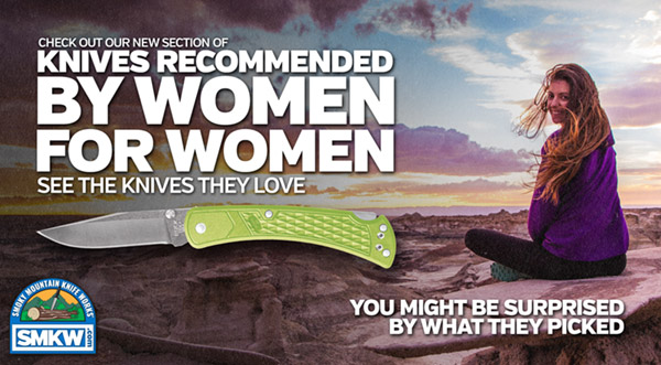 Knives Recommended by Women for Women