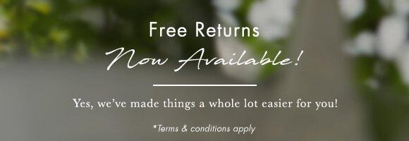 Free UK Returns