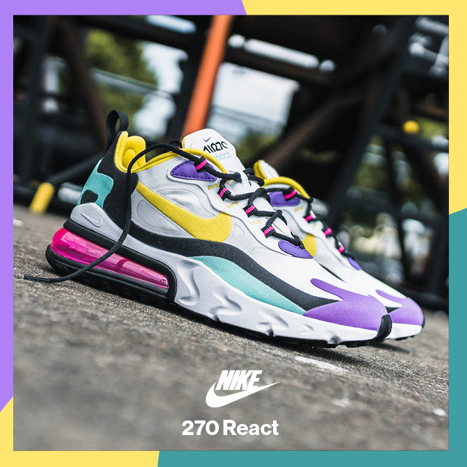 Snipes AT: Aufregende neue Colorways: NIKE Air Max 270 React
