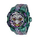 Invicta DC Comics Limited Numbered Edition Joker Mens Quartz 52.5 mm Stainless Steel