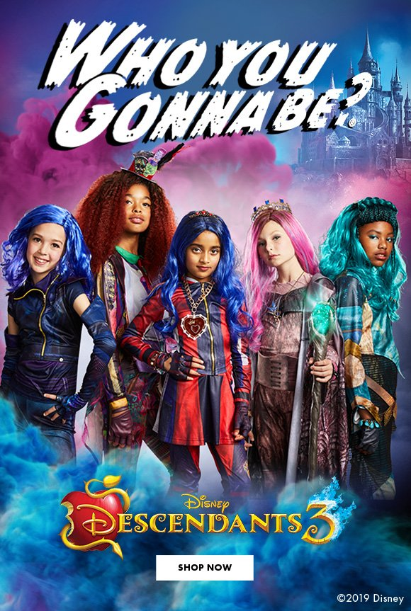 Who You Gonna Be? Disney Descendants 3. Shop Now