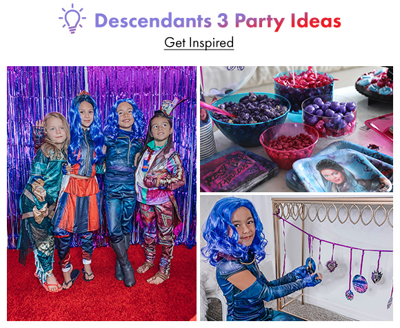 Descendants 3 Party Ideas. Get Inspired