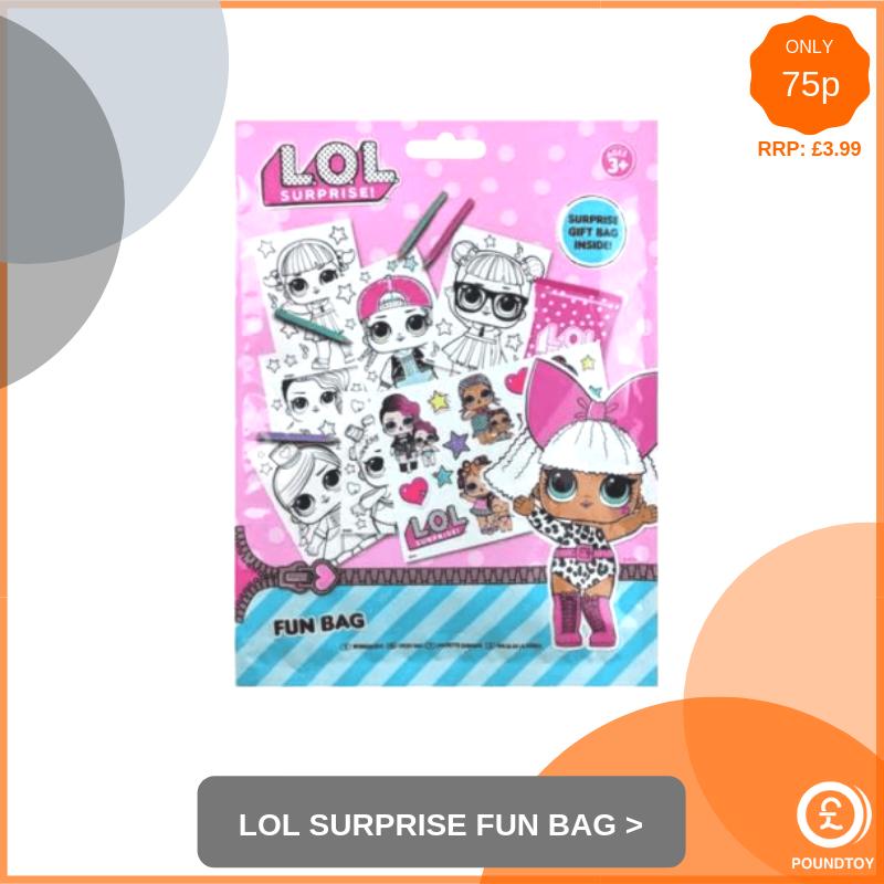 LOL Surprise Fun Bag