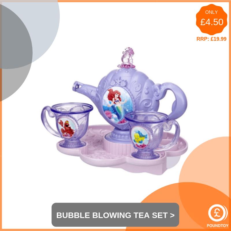 Bubble Blowing Tea Set