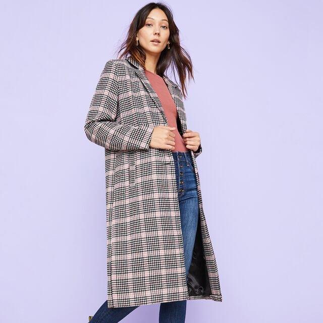 Fall Essentials: Plaid Coats & More
