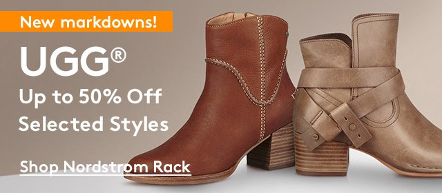 New Markdowns!   UGG   Up to 50% Off Selected Styles   Shop Nordstrom Rack