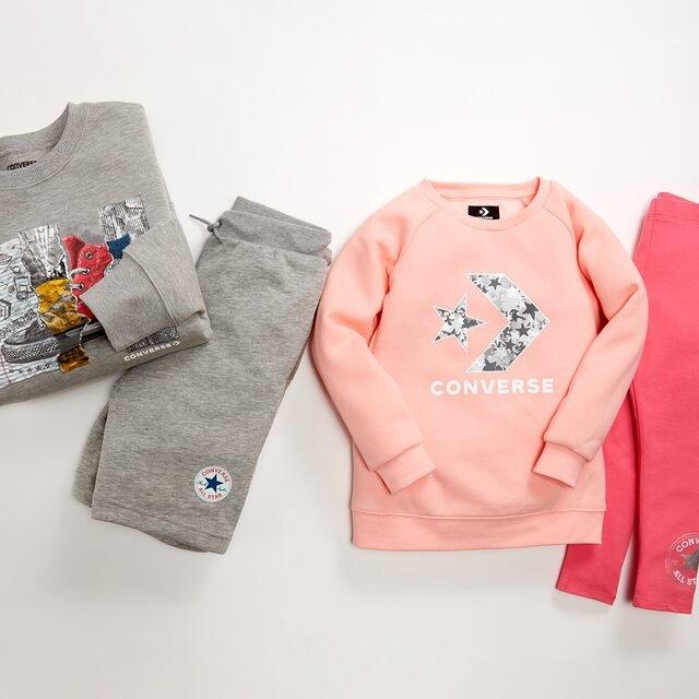 Converse Kids' Clothing Starting at $11
