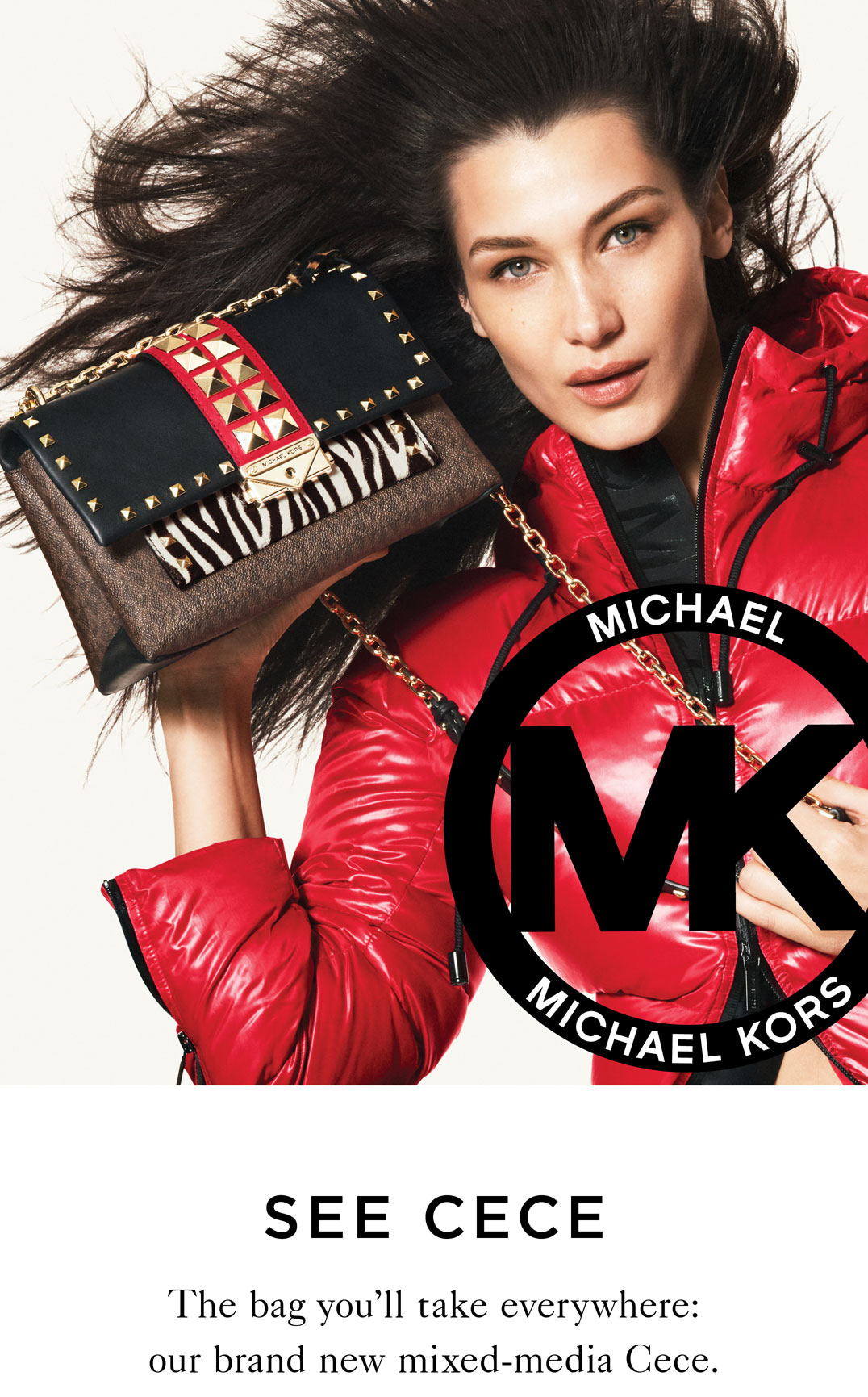 Michael Kors Cece Me Milled