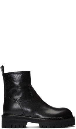 Ann Demeulemeester - Black Tucson Boots