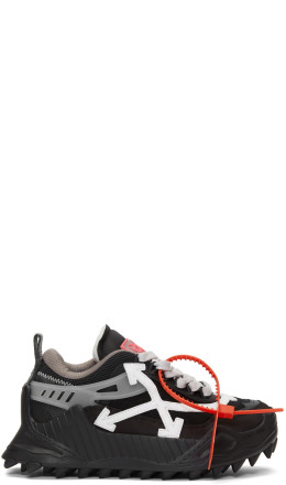 Off-White - Black Odsy 1000 Sneakers