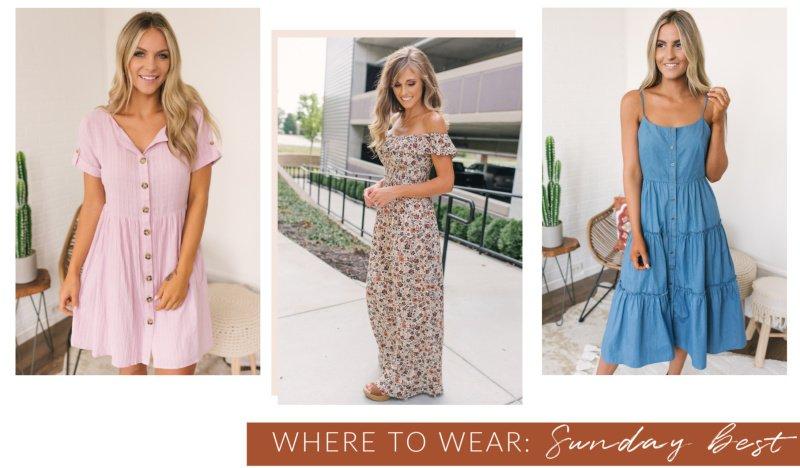 Sunday best dresses