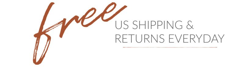 shipping on us