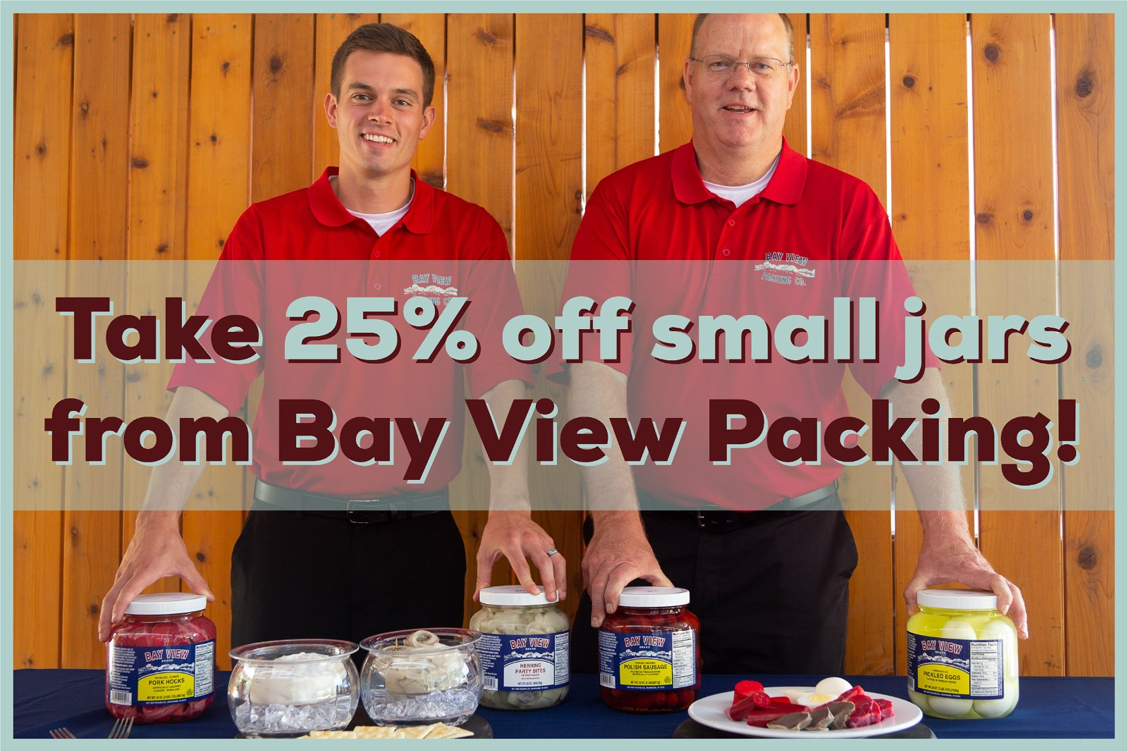 Take 25% off select products from Bay View Packing Company. Available on WisconsinMade Artisan Collective