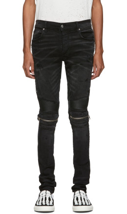 Amiri - Black Rough MX2 Jeans