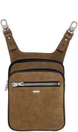 Amiri - Brown Hip Bag