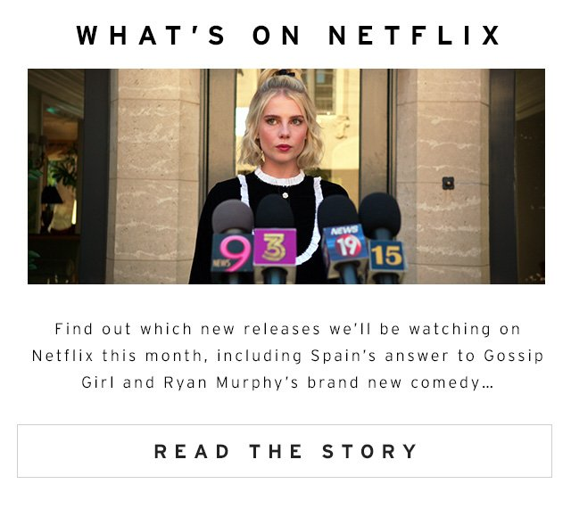What's On Netflix - Read The Story