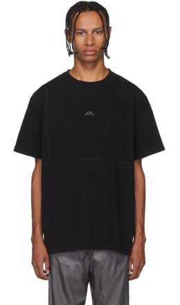 A-Cold-Wall* - Black Overlock T-Shirt
