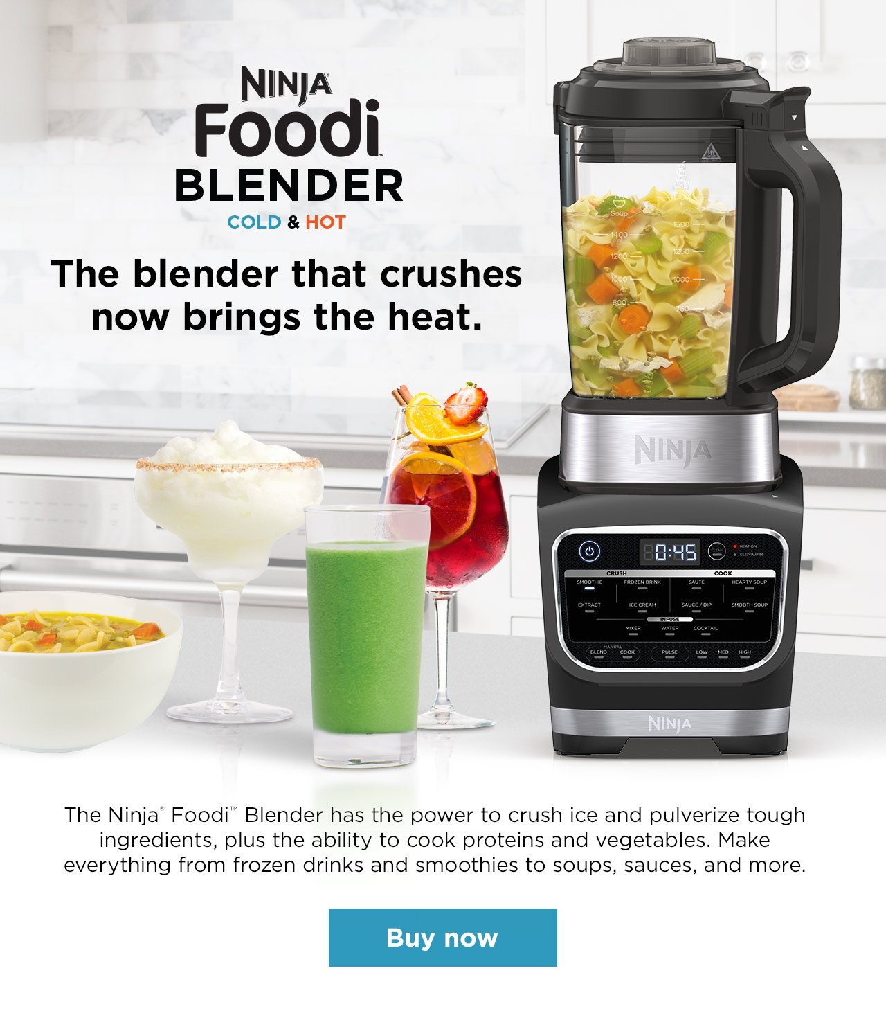 Ninja Kitchen: Meet the Ninja® Foodi™ Cold & Hot Blender ...