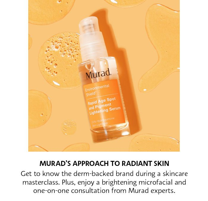 Murad's Approach to radiant Skin