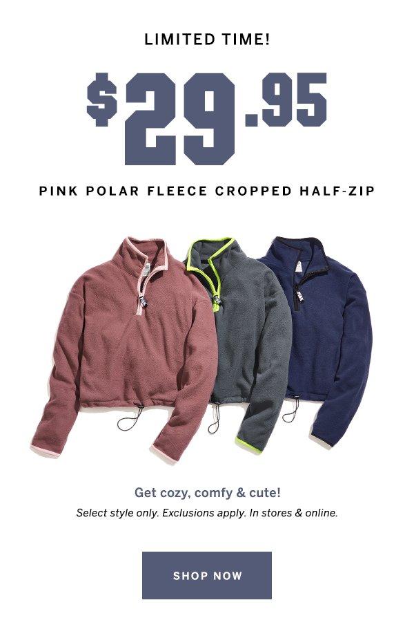 $29.95 PINK polar fleece