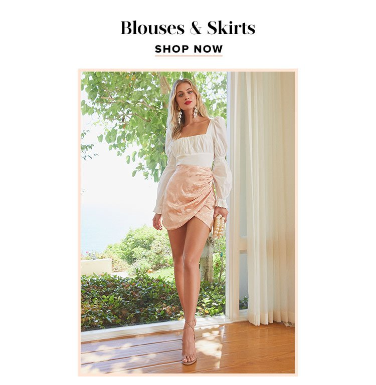 Blouses & Skirts. Shop now.