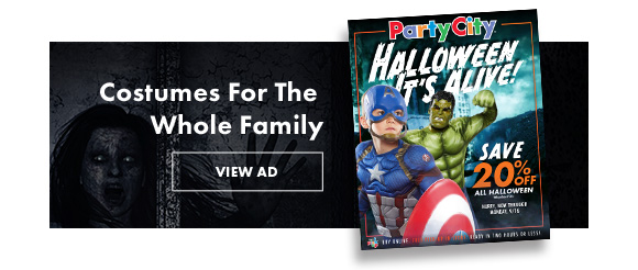 Costumes For The Whole Family. View Ad