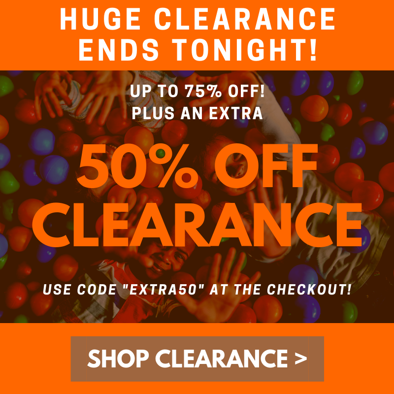 50% Clearance Ends Tonight