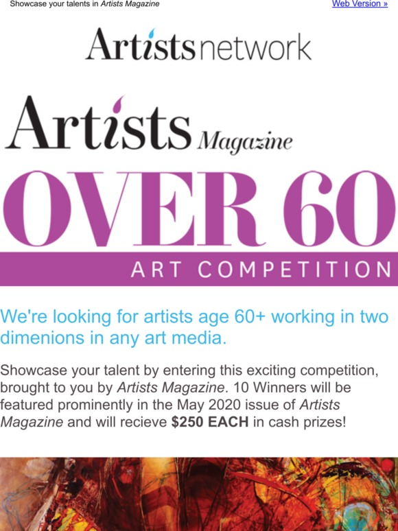 artists meshwork on top of 60 competition