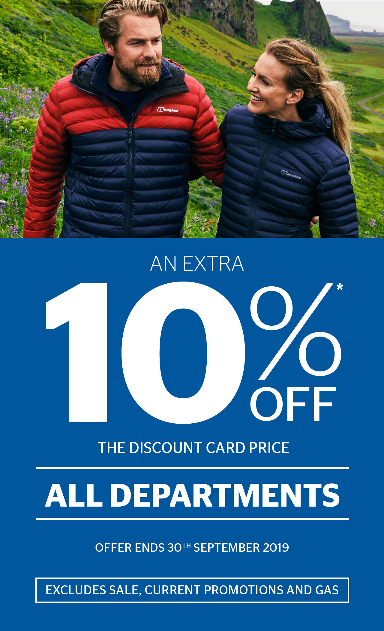An extra 10% off the retail price