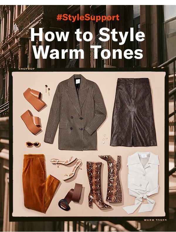 Go all in on fall by wearing this autumnal palette from head to heels. Here, how to get the looks.