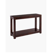 Tobacco Brown Console Table