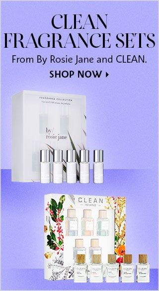 Clean Fragrance Sets
