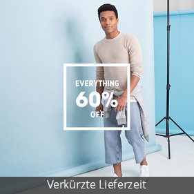 Everything 60 % off